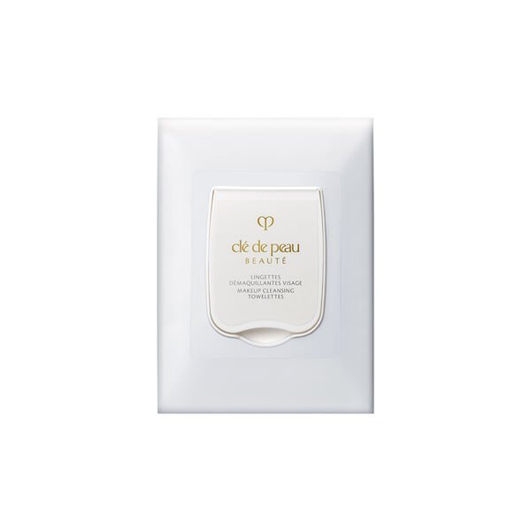 A magnified image of the texture of the Makeup Cleansing Towelettes,