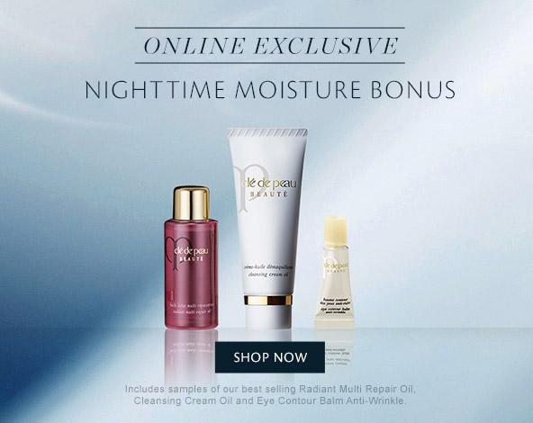 Nighttine Moisture Bonus. Shop Now.