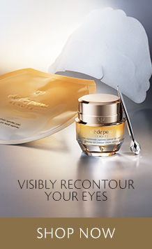Visibly Recountour Your Eyes. New Essential Refining Essence. Shop Now.