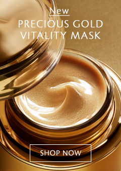 新品 Precious GoldVitality Mask。开始购买。