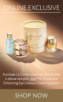 La Creme Travel Bonus. Shop now.