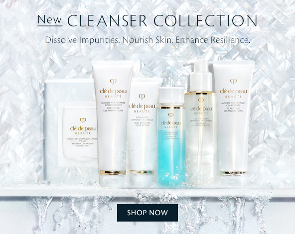 NEW Cleanser Collection. Shop Now.
