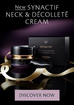 NEW Synactif Neck & Décolleté Cream. Discover Now.