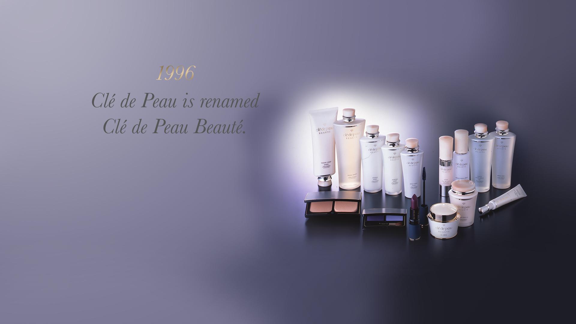 Clé de Peau is renamed Clé de Peau Beauté.