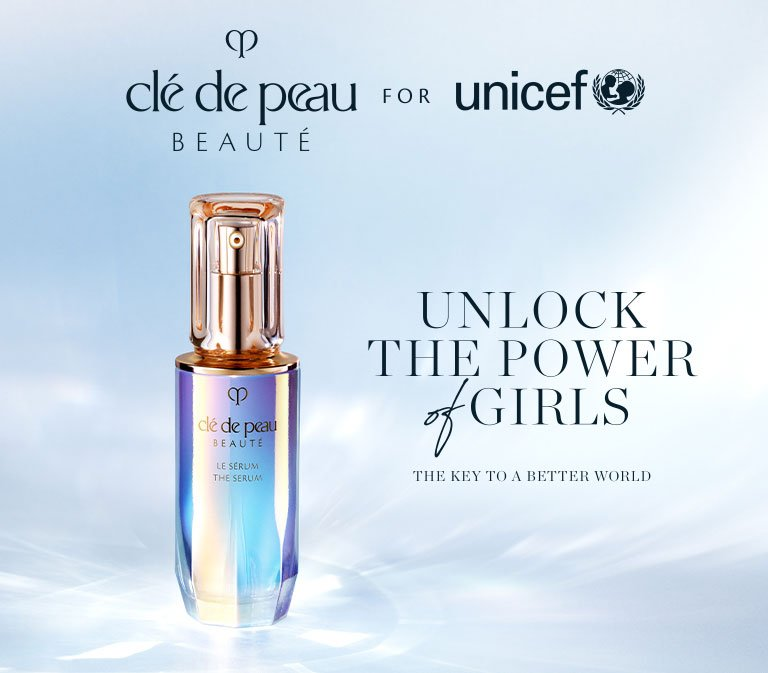 For every purchase of The Serum, a donation will be made to UNICEF.