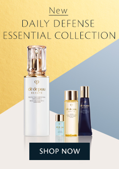 NEW Daily Defense Essential Collection. Shop Now.