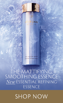The Mattifying Smoothing Essence. New Essential Refining Essence. Shop Now.