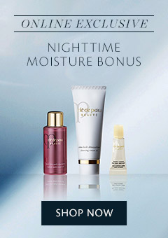 Nighttime Moisture Bonus. Shop Now.