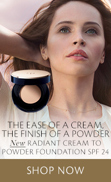 Cream to Powder Foundation. Shop Now.