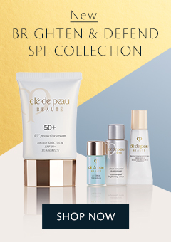 NEW Brighten & Defend SPF Collection. Shop Now.