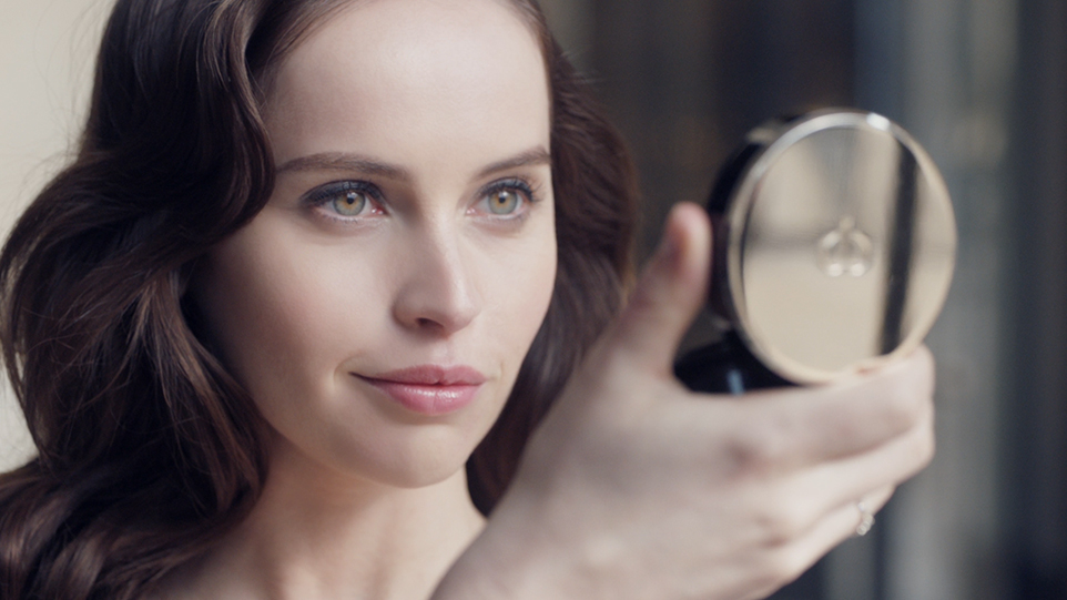 Radiant Cream to Powder:Felicity Jones